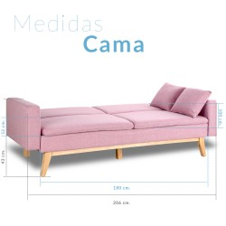 Don Descanso- Sofá Cama con...