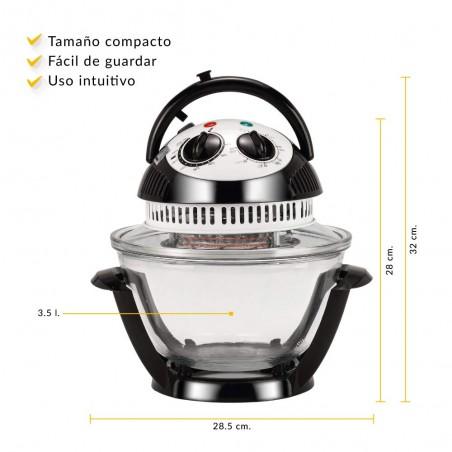 NEWCHEF Mini Horno Compact...